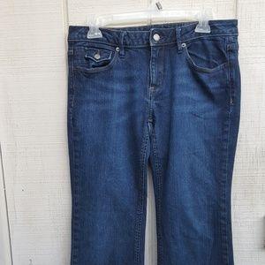 Banana Republic Boot Cut Jeans Size 6 Short